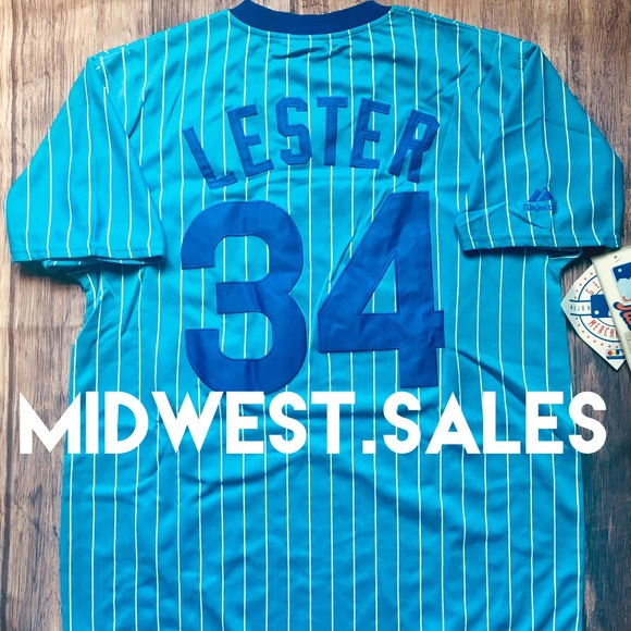 buy popular 2b286 0a80c *NEW* Jon Lester Chicago Cubs Throwback Jersey Boutique